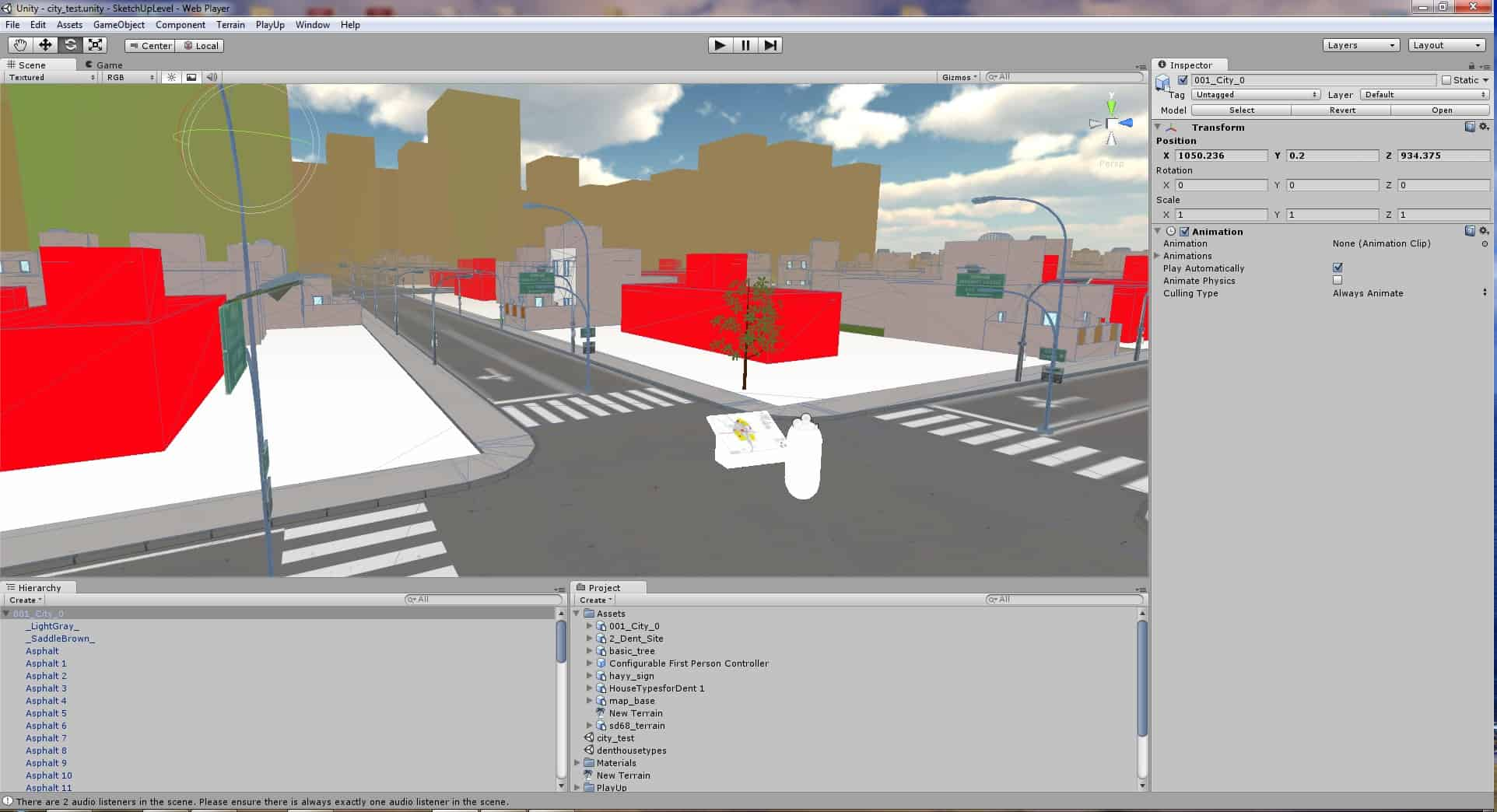To Unity and Beyond? QGIS, ArcGIS, SketchUp Pro/Free