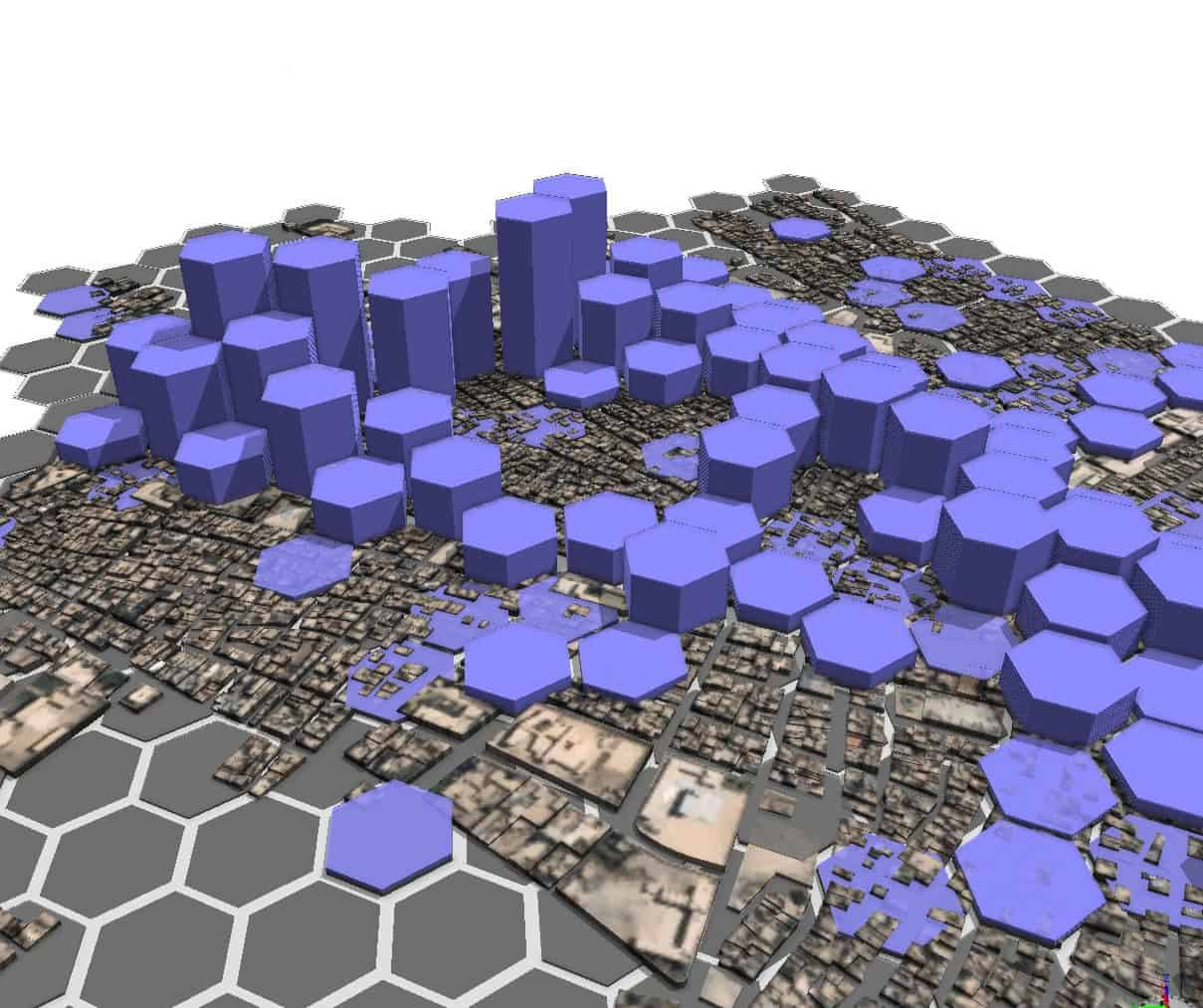 Hexagons are the only way to visualise this stuff honestly... :)