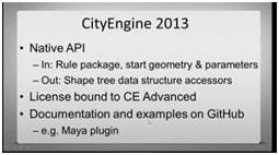cityengine2013_3_native API