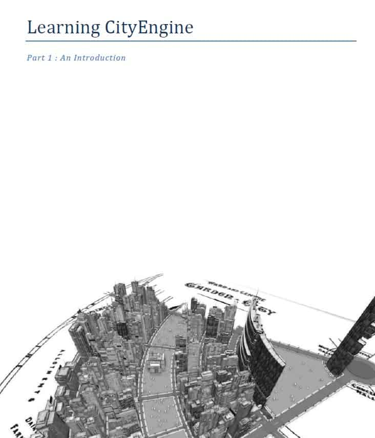 Learning CityEngine draft cover