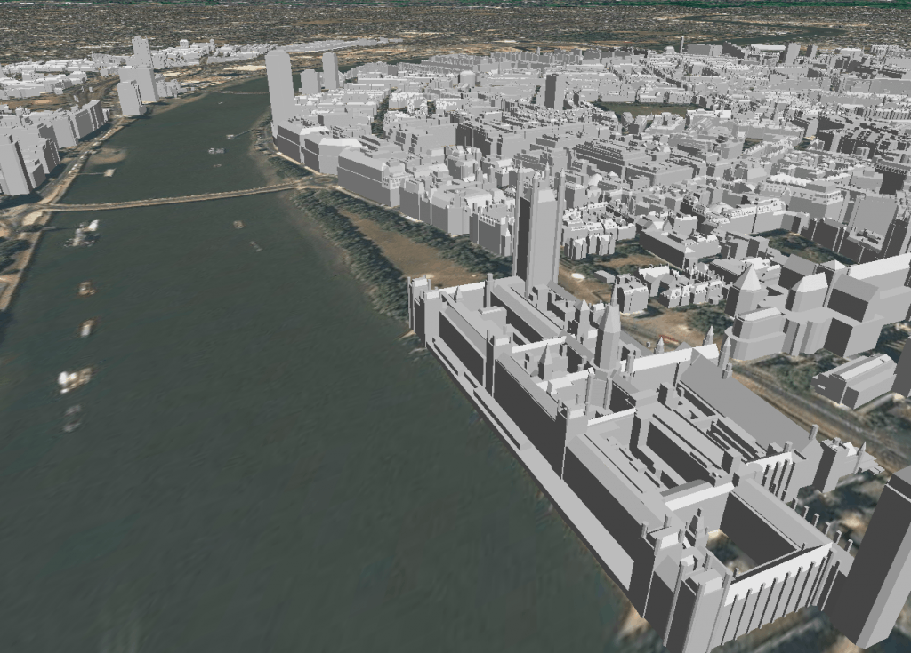 CyberCity3D new 3D London Coverage