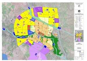 Nasiriyah City Master Plan Map