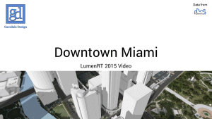 Downtown Miami Video title