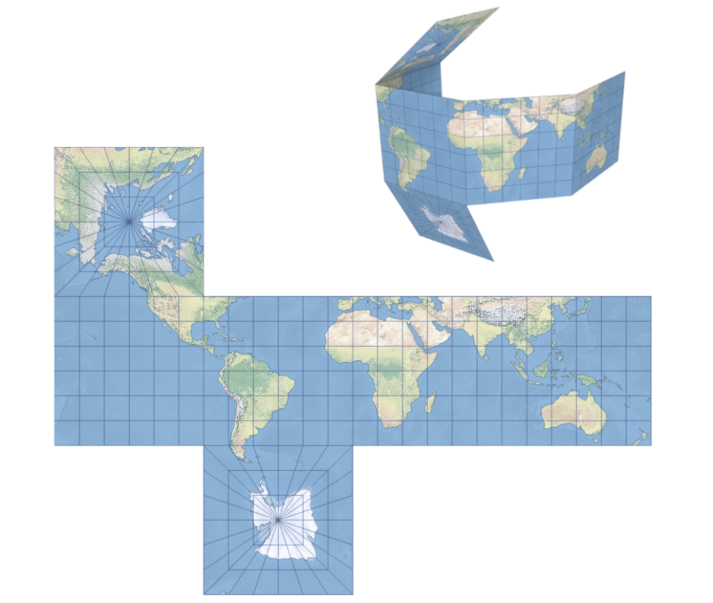The Cube Map Projection