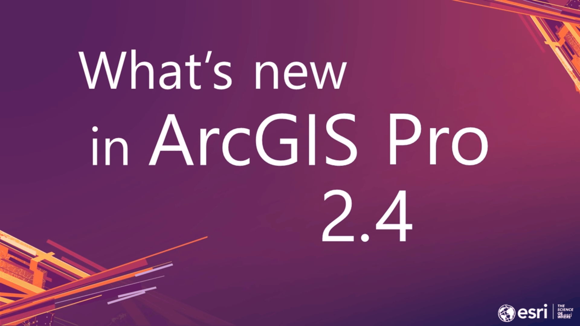 What's next in ArcGIS Pro 2 4! - GeoPlanIT